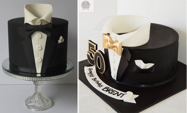 Tuxedo Cakes By Cakes Biscuits By Lisa Left Arty Crafty