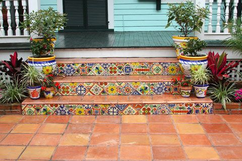 Best Patio Tiles Over Concrete Steps Beautiful Tiled Front 400 x 300