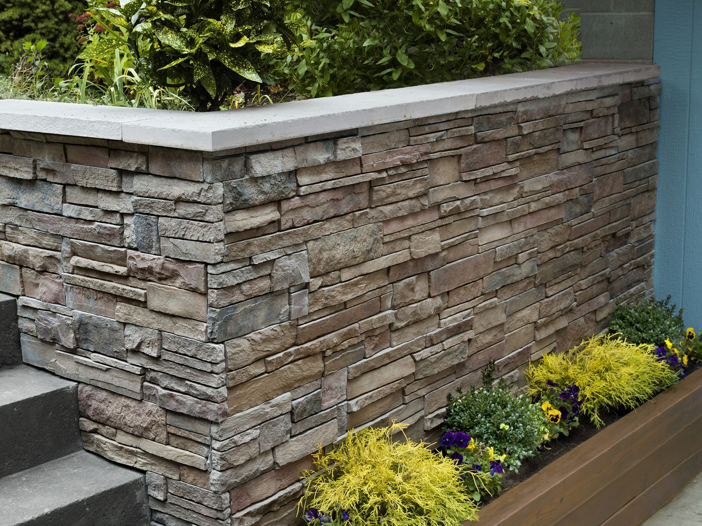 How To Clad A Wall In Stone In 2020 Stone Facade Exterior Wall Panels Exterior Stone