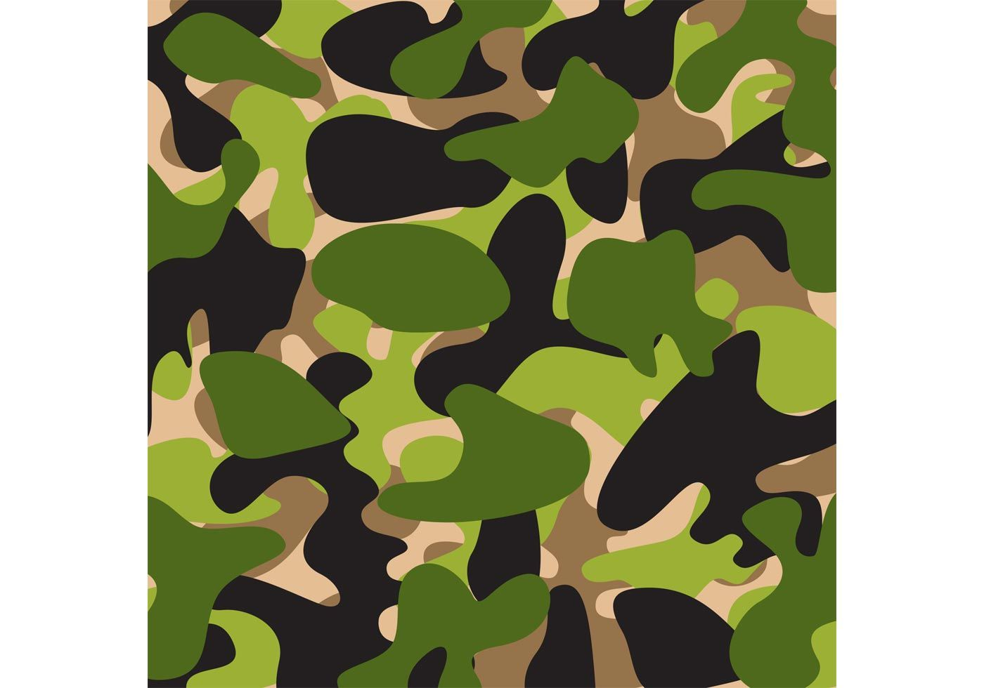 Camouflage Vector Pattern Vector Pattern Camo Patterns Camouflage