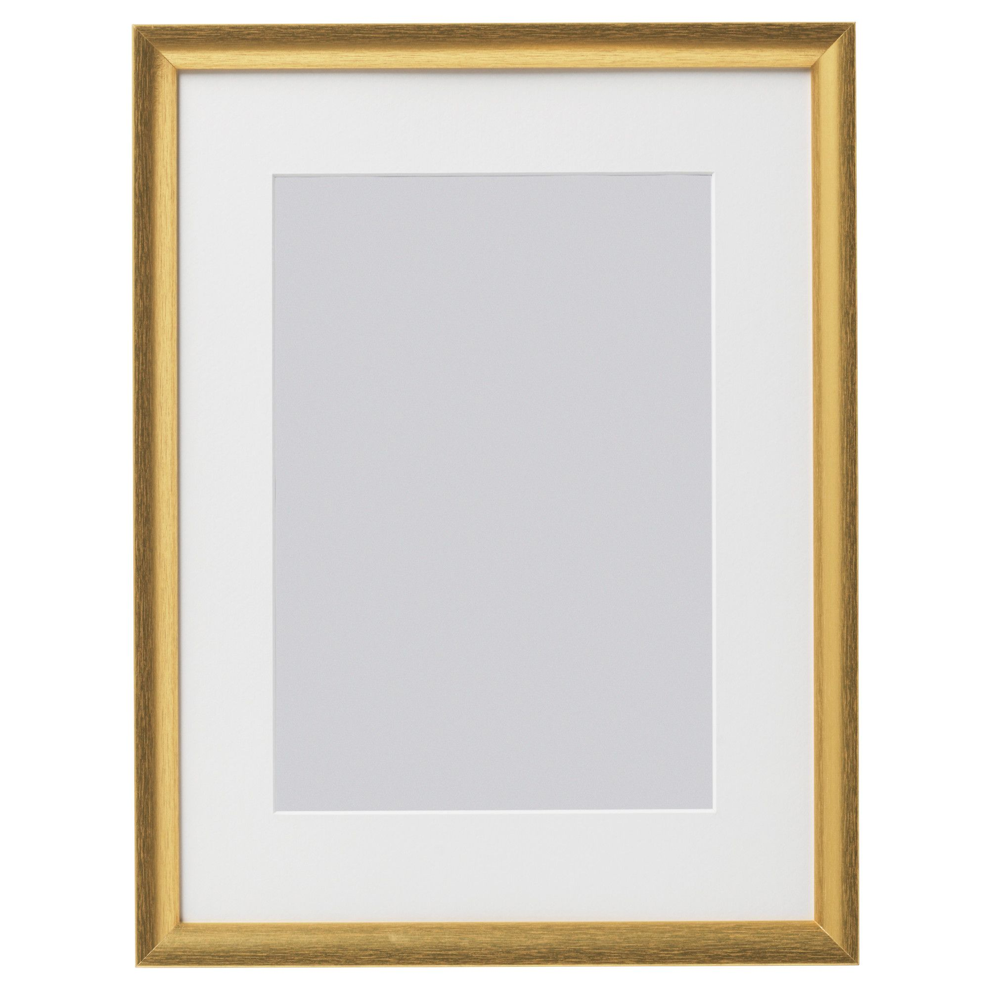 Silverhojden Frame Gold 12x16 Ikea Frame Frames On Wall Wall Frames