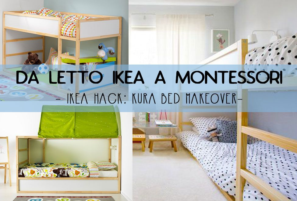 Ikea hack da kura a lettino montessori un makeover for Materassi lettino ikea