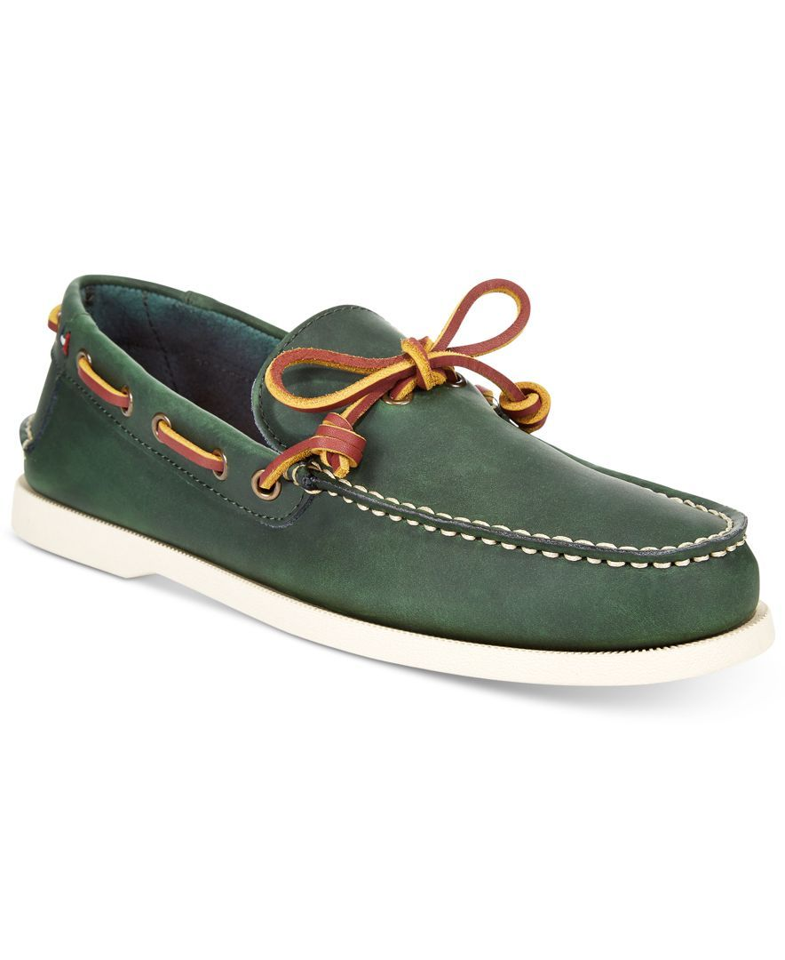 0e6e33cbc Tommy Hilfiger Men s Brisbane Boat Shoes