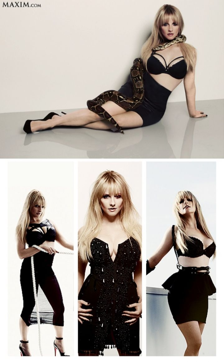melissa rauch real voice