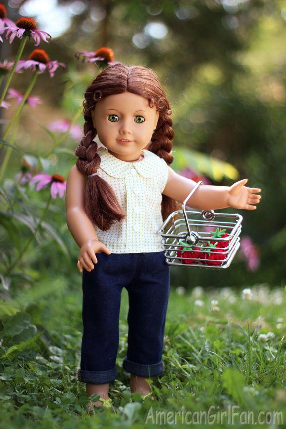 American Girl Doll Craft How To Make A Felt Tomato #americangirldollcrafts