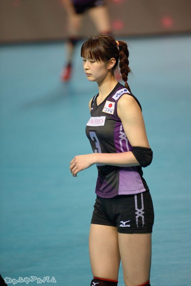 Asian masuese volley player girl