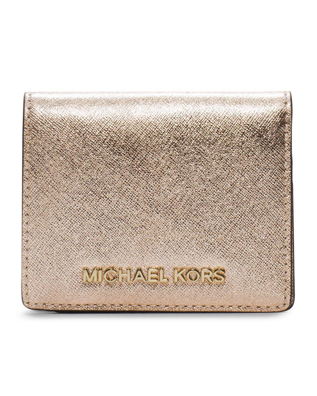 f0b3b2fd65f9 MICHAEL Michael Kors Jet Set Travel Flap Card Holder