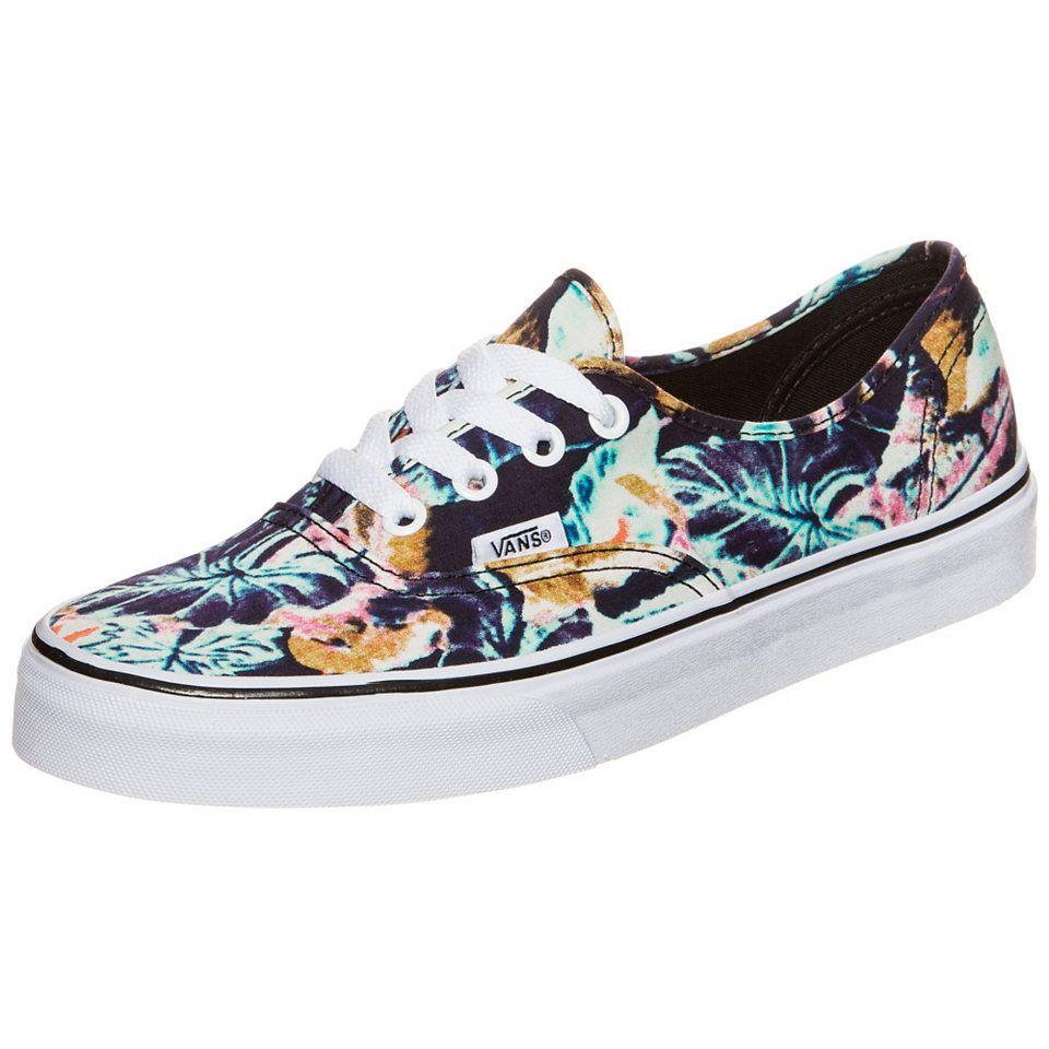 Vans Authentic Tropical Leaves Sneaker Damen | Lieferwagen
