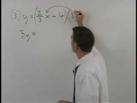 Standard Form Of A Line Yourteacher Algebra Help Found By
