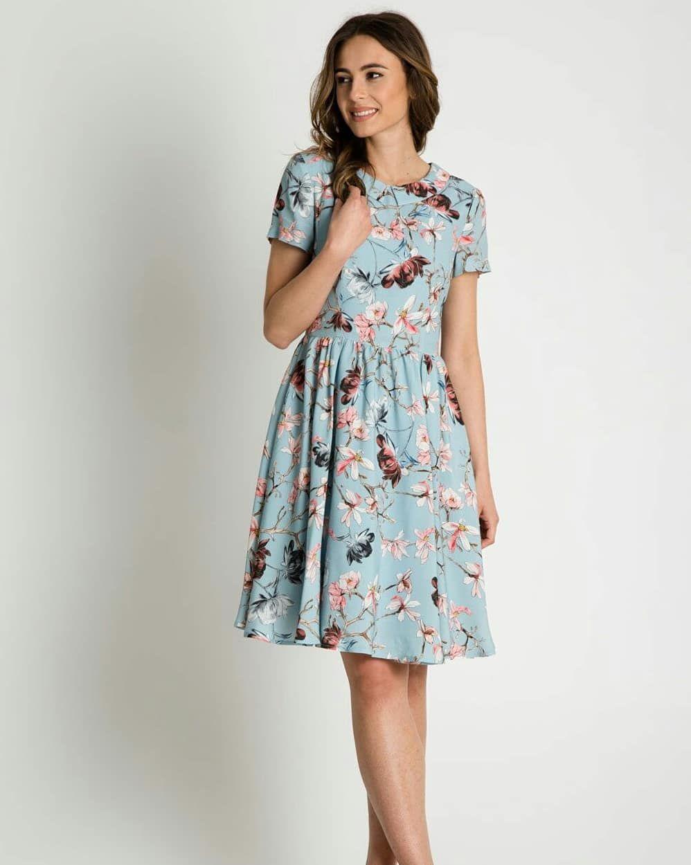 Pogoda Nas Rozpieszcza Bialcon Brand Bialcon Sukienka Styl Wiosna Lato Kwiaty Polskadziewczyna Polskamoda Modelka Casual Dress Fashion Dresses