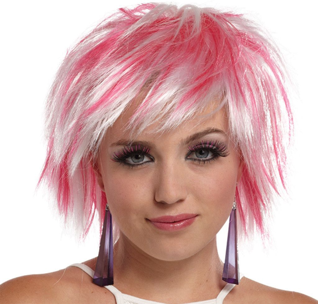 Short Hairstyles Pink Highlights The Latest Trend Of Hairstyle 2018