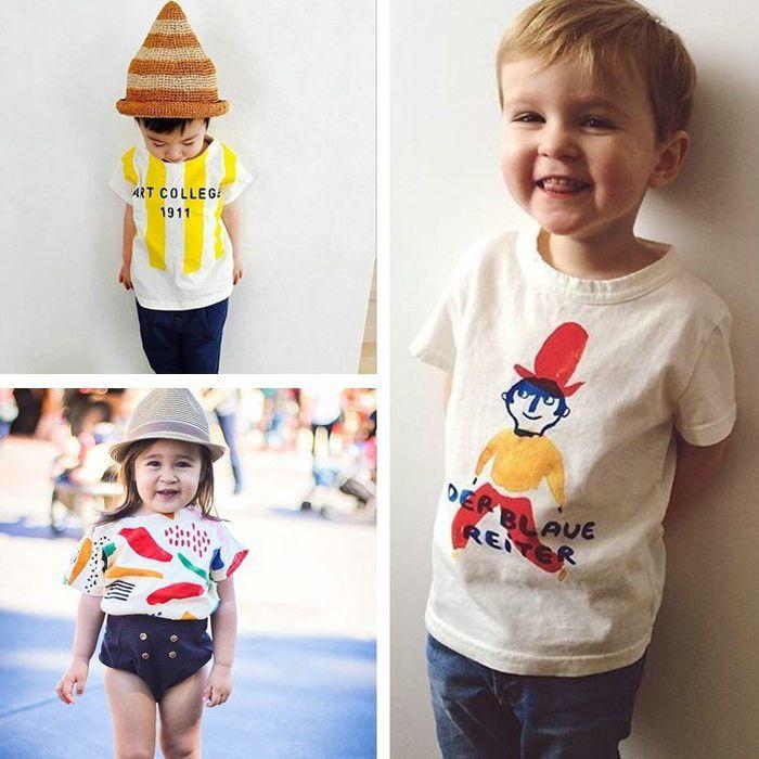 30e03700b12fc Click to Buy << Kawaii summer bobo choses Tees T Shirts Baby Kids ...