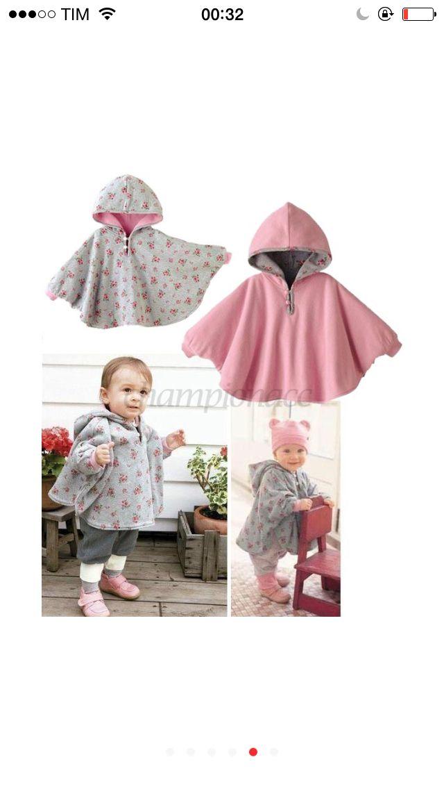 Newborn Baby Boys Girls Hooded Cloak Cape Poncho Coat Hoodies