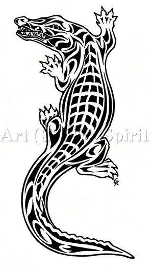 c7c3170d2 35+ Awesome Alligator Tattoo Designs   Gator Images   Alligator ...