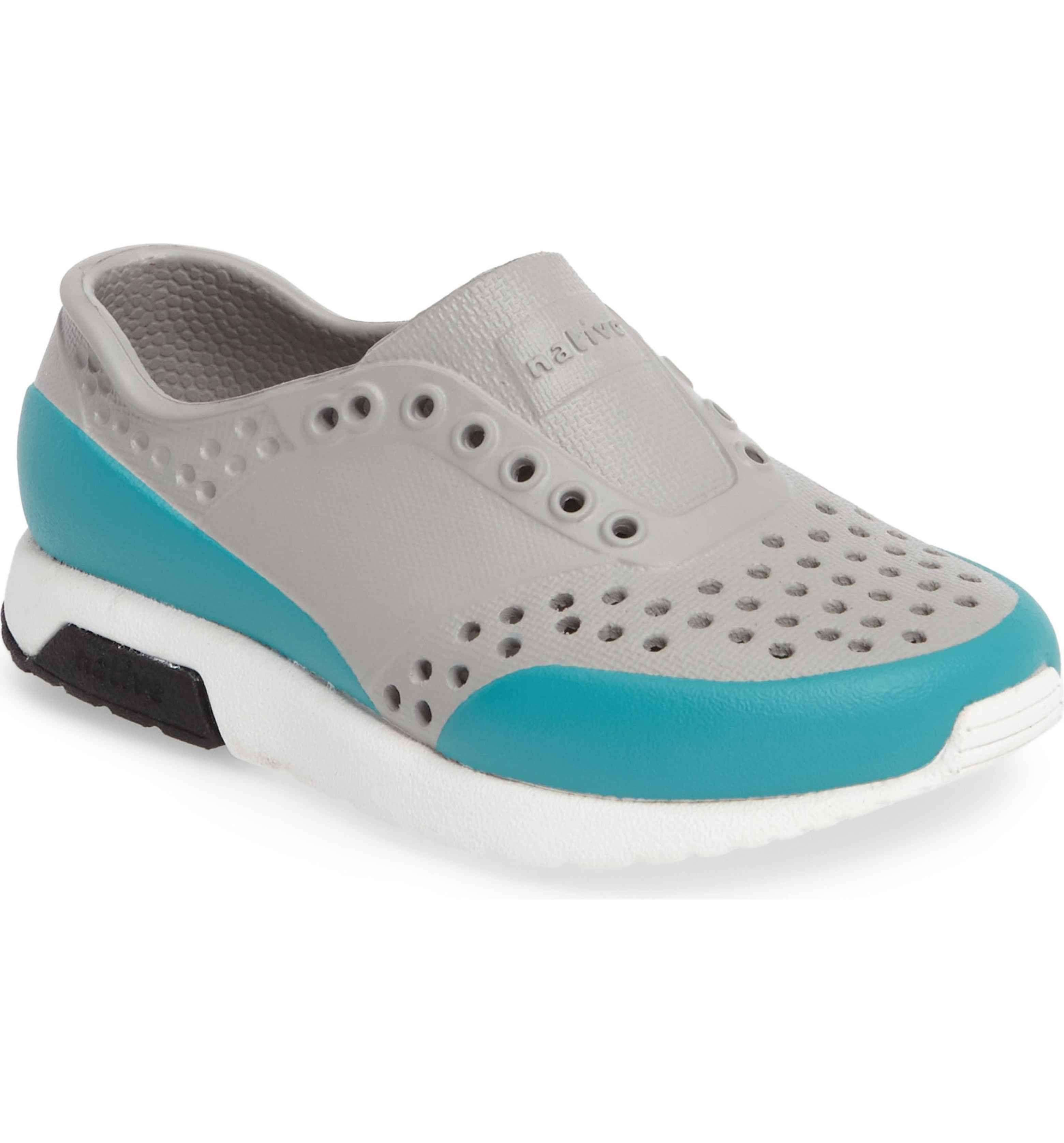 Main Image Native Shoes Lennox Block Slip Sneaker Baby Walker