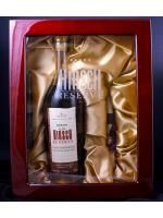 "A. H. Hirsch Bourbon 16 Years Old Pot Stilled - Reserve 1974 with Humidor - 91 Proof  (750ml). State Liquors says ""We have one of these, and it's one of the rarest bourbons on the market. Appropriate for celebrating a very special occasion or accomplishment."""