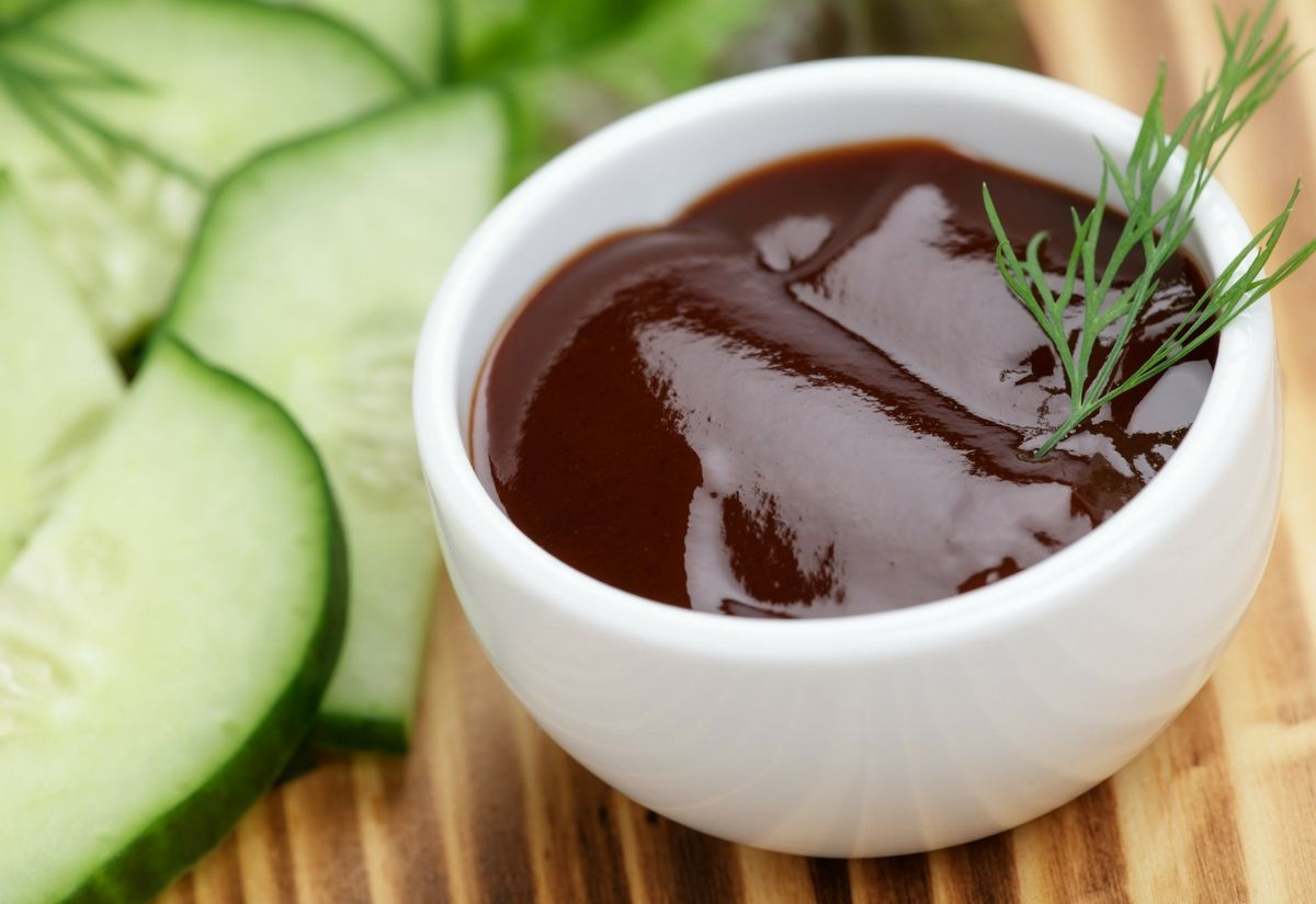 Salsa barbecue vegetariana e senza glutine
