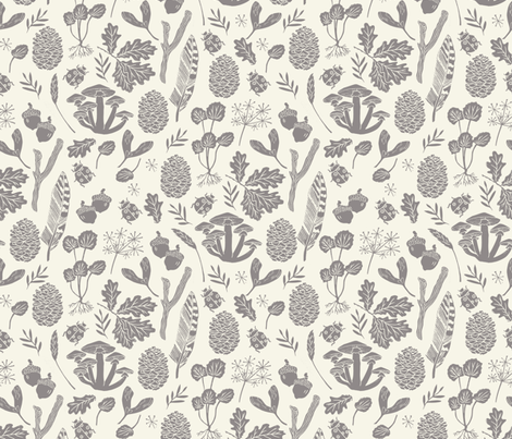 Colorful Fabrics Digitally Printed By Spoonflower Nature Walk