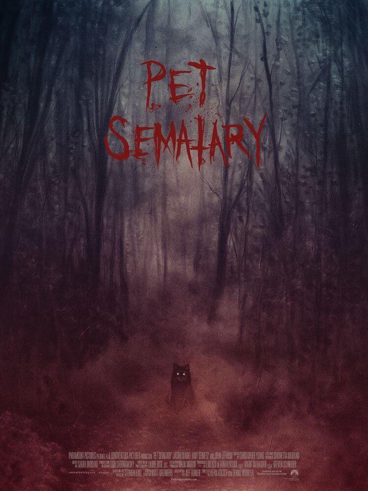 Based On The Seminal Horror Novel By Stephen King Pet Sematary