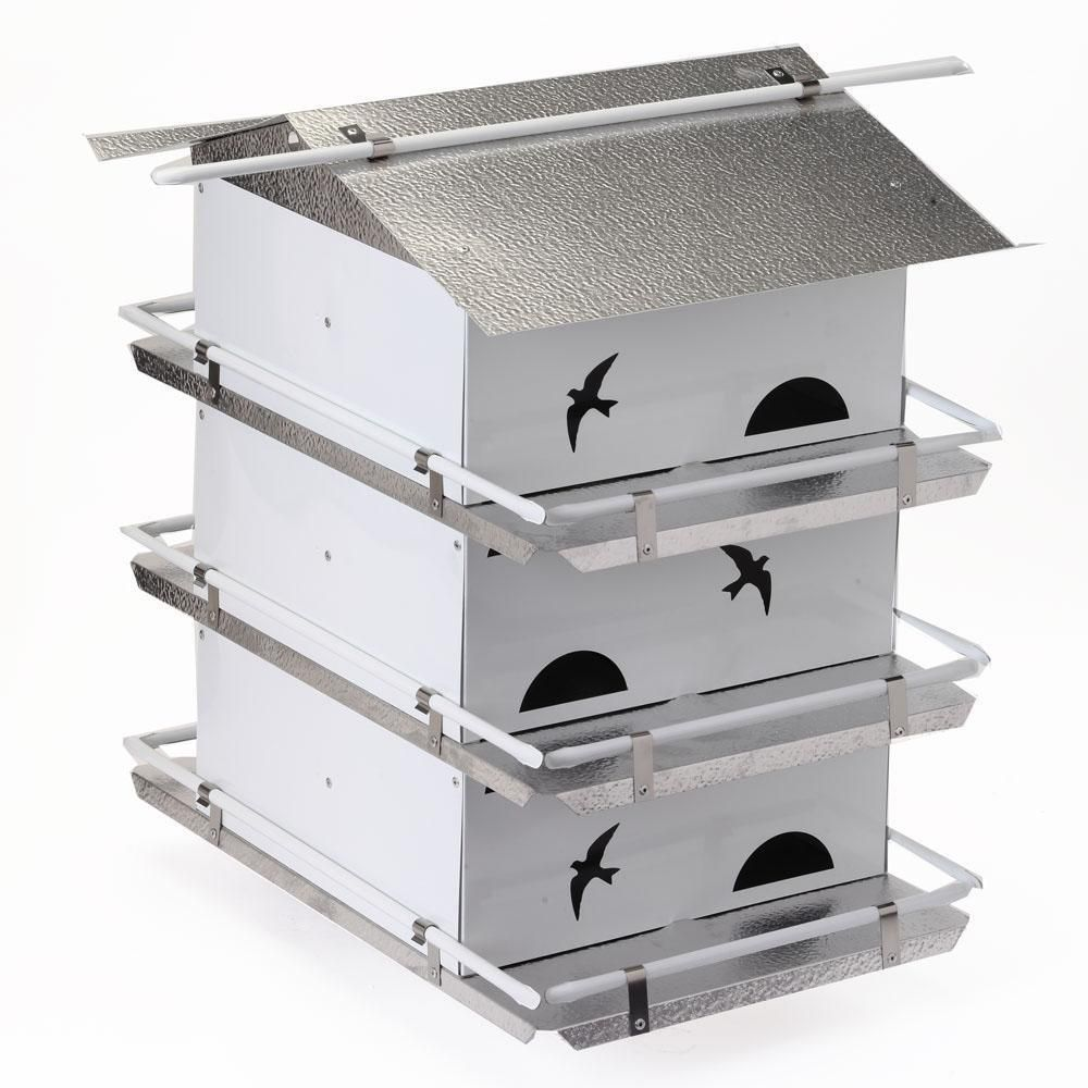 Birds Choice Watersedge Purple Martin House 3 Floor 6 Room Pre Assembled Ships Within 7 to 10 Business Days