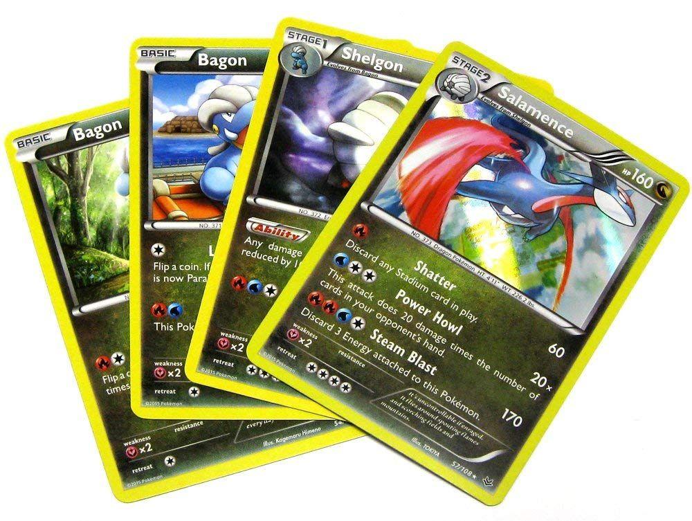 Pokemon x and y roaring skies salamence single card