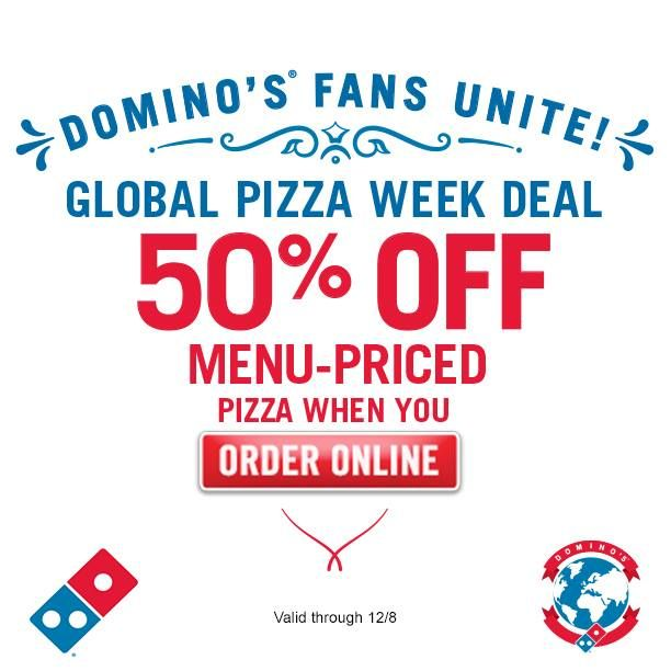 dominos coupons online