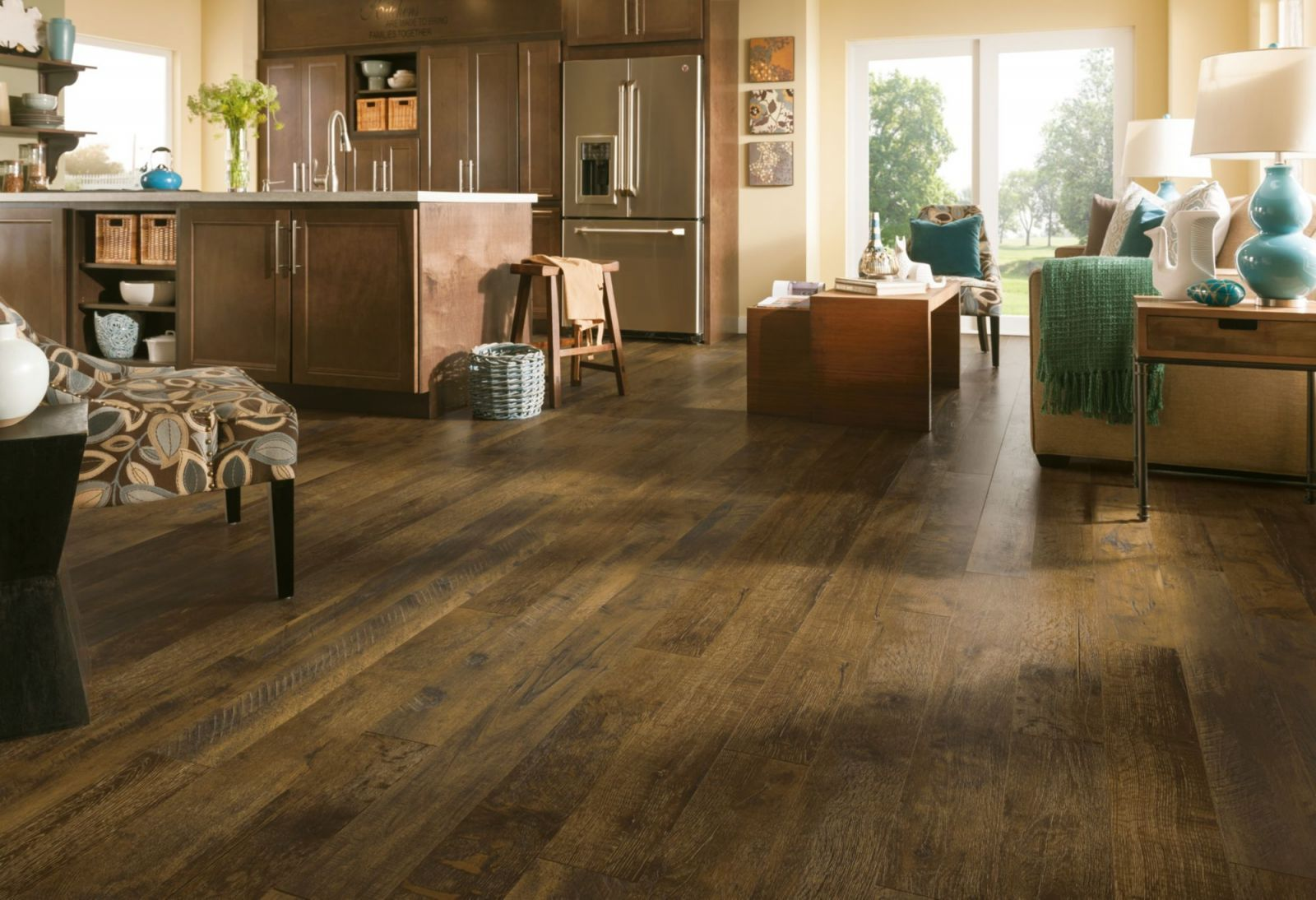 Armstrong PRYZM Forest Treasure Brown Hybrid Floor w