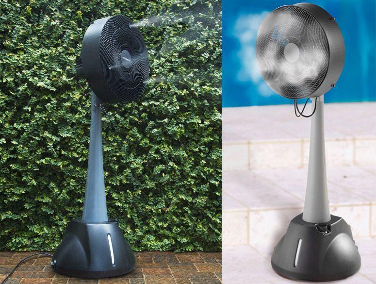 Auramist Milo - Hoseless Evaporative Misting Fan | Cool ...