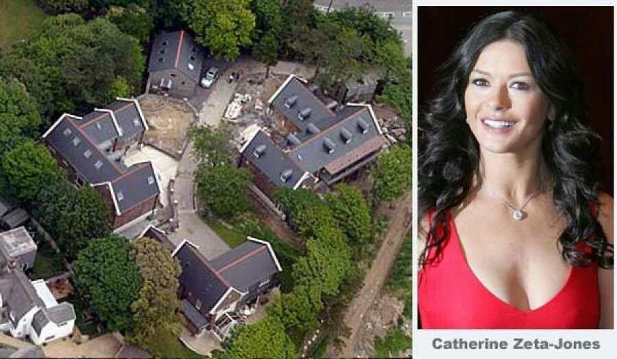 Catherine Zeta-Jones Mansion, | Celebrity houses ...