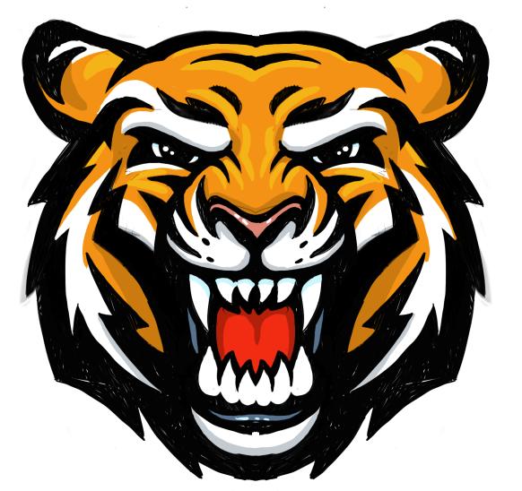 tiger head mascot mascot branding and logos in 2018