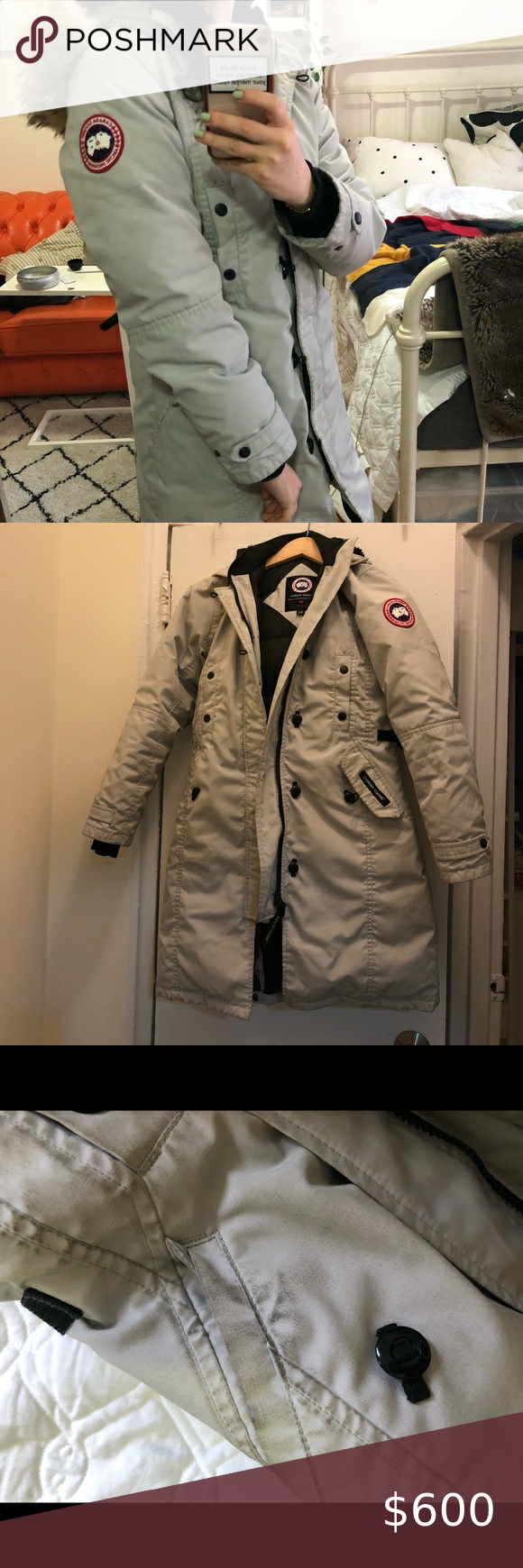 Rare Canada Goose Trillium With Fur Hood Love This One Because It S Not The Same Black Jacket Every B Tch In Nyc Has In 2020 Fur Hood Black Jacket Jackets For Women