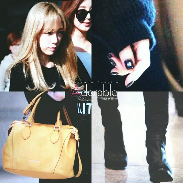 Adorable @taeyeon_ss_com 151028 Incheon Airport TaeYeon Preview -2  #SNSD #taeyeon