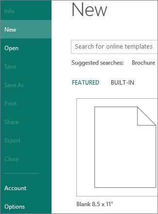 Find brochure templates in Publisher - Publisher Microsoft Office