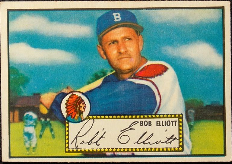 1951 Topps Baseball 14 Baseball Flashbacks Baseball Baseball
