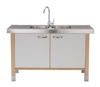 Ikea Kitchen Island With Sink varde sink cabinet | products, cabinets and sinks