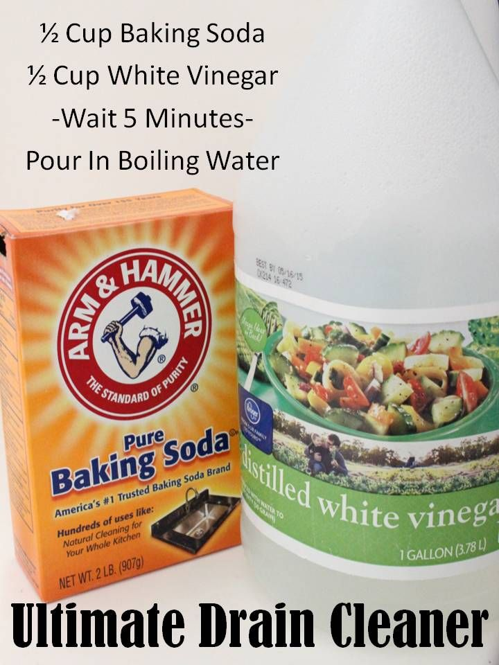 Natural Draining The Ultimate Natural Drain Cleaner