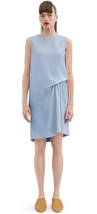 Stretch Acne Cr Crepe Dress Caprice Blue Studios Str Sky tdQrhCsx