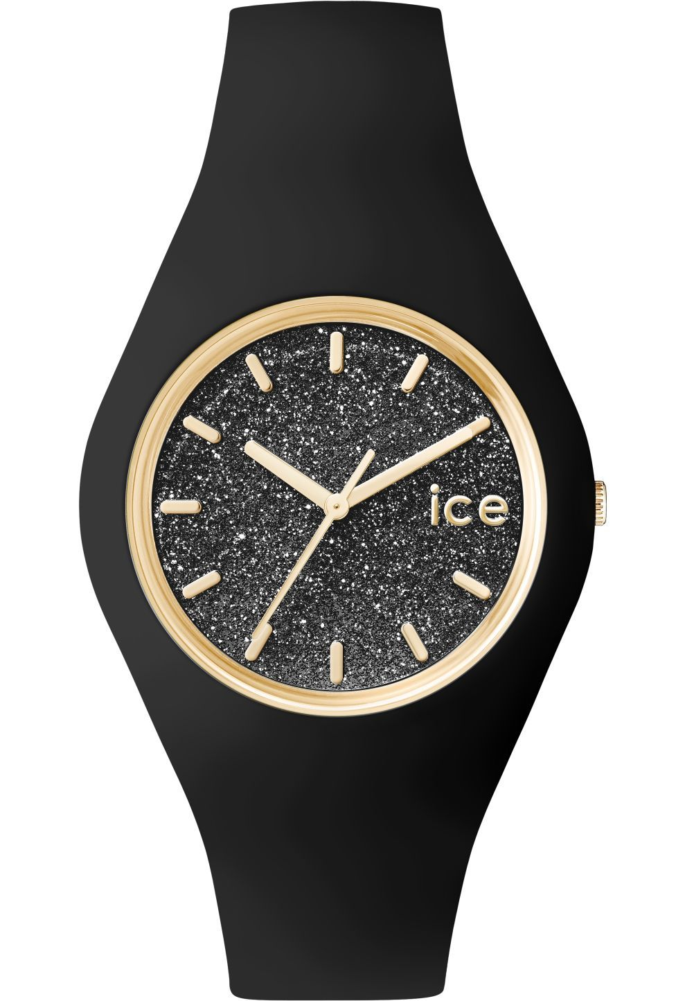 6a16afeb4fd7e Montre ICE-Glitter - Black - Unisex | Accessories | Ice watch, Watches