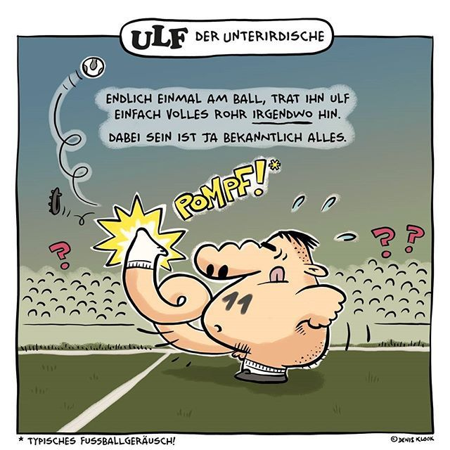 Ulf Der Unterirdische Heute Fussball Ulfunterirdisch