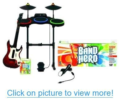 Xbox 360 Band Hero Featuring Taylor Swift Super Bundle Xbox