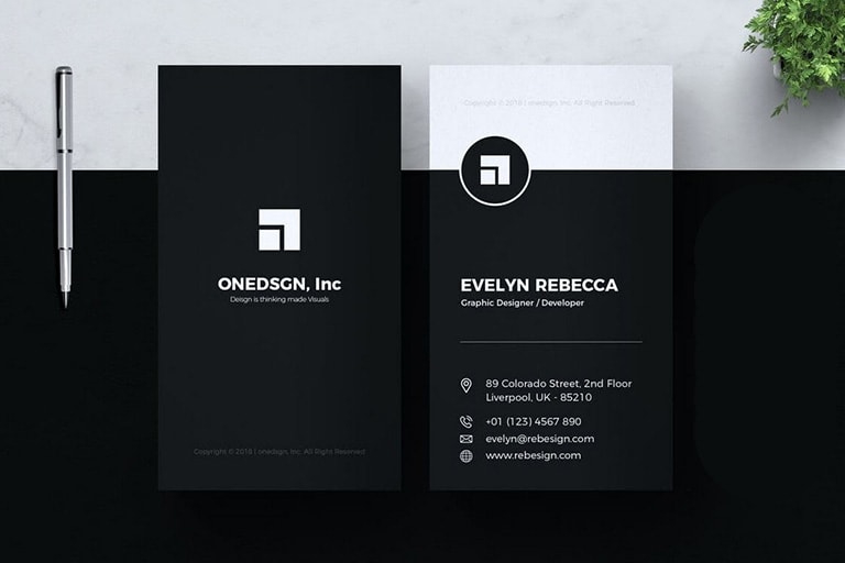 20 Business Card Templates For Google Docs Free Premium With Best Google Docs B Google Business Card Minimalist Business Cards Free Business Card Templates