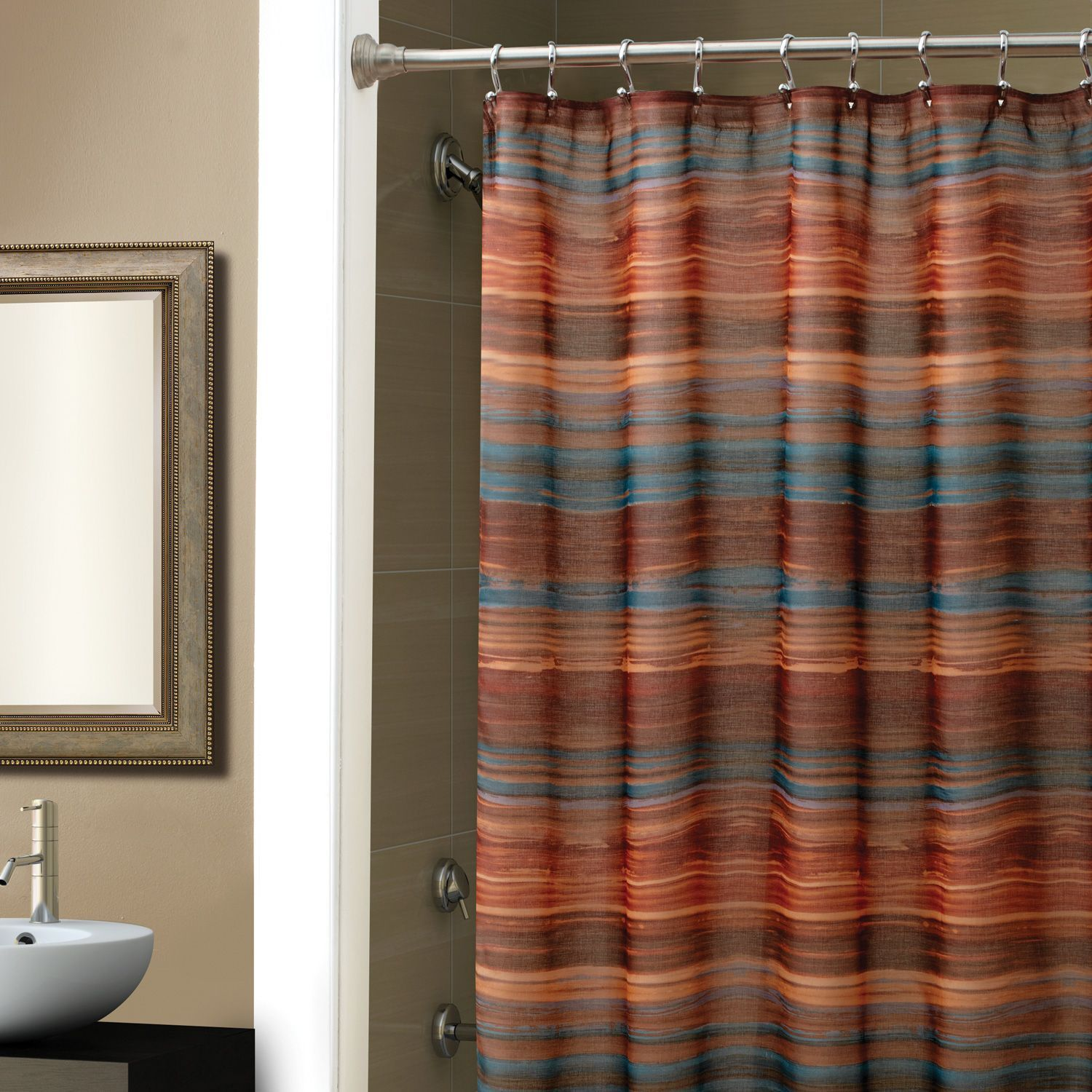Shower Curtains Bathroom Curtains With Free Shipping At Linens N