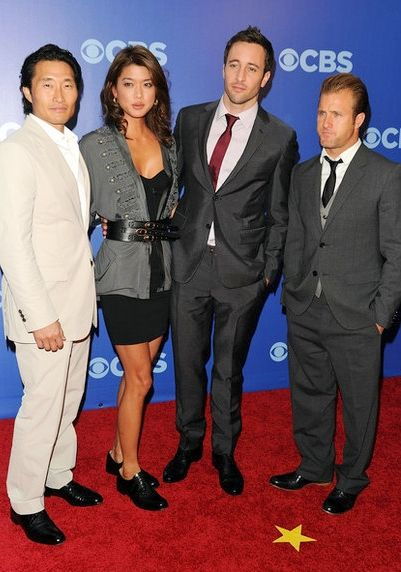 ♥♥♥ Cast of Hawaii Five-0 at CBS Upfronts 2010 - Daniel Dae Kim, Grace Park, Alex O'Loughlin and Scott Caan