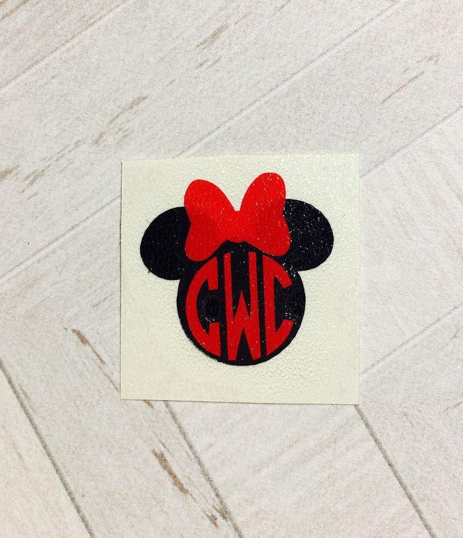 Magic band decal monogram magic band decal magic band sticker monogram decal