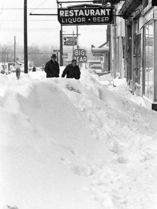 Blizzard Of 1978 Newark Ohio Cleveland Was Hit Hard As Well