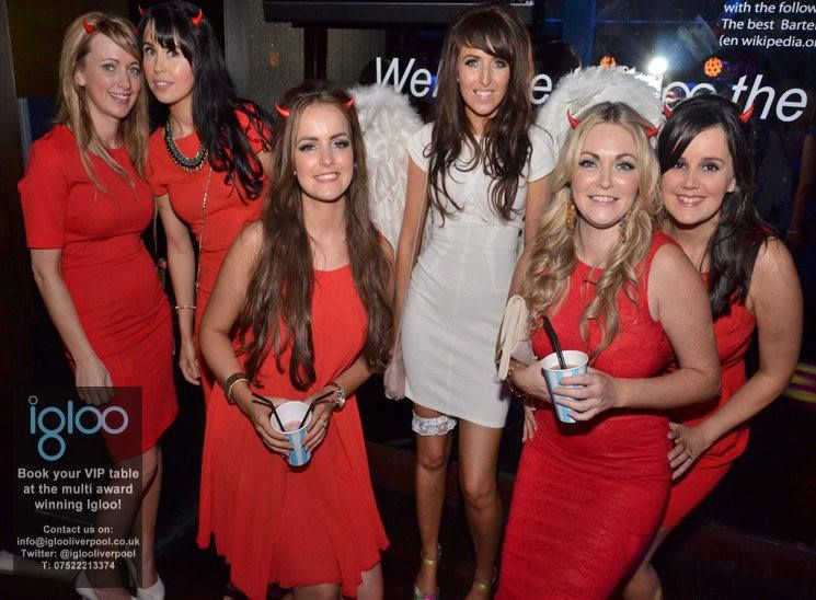 Hen Party Themes Angle N Devil