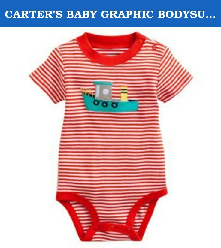 Kohls Baby Boy Clothes Mesmerizing Carter's Baby Graphic Bodysuit Tugboat Newborncarter's At Inspiration Design