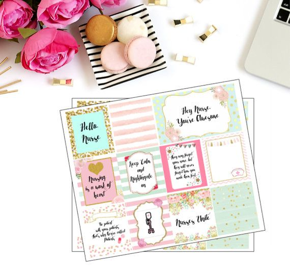 Nurse Planner Stickers Heidi Swapp Memory Planner by theREESEboutique