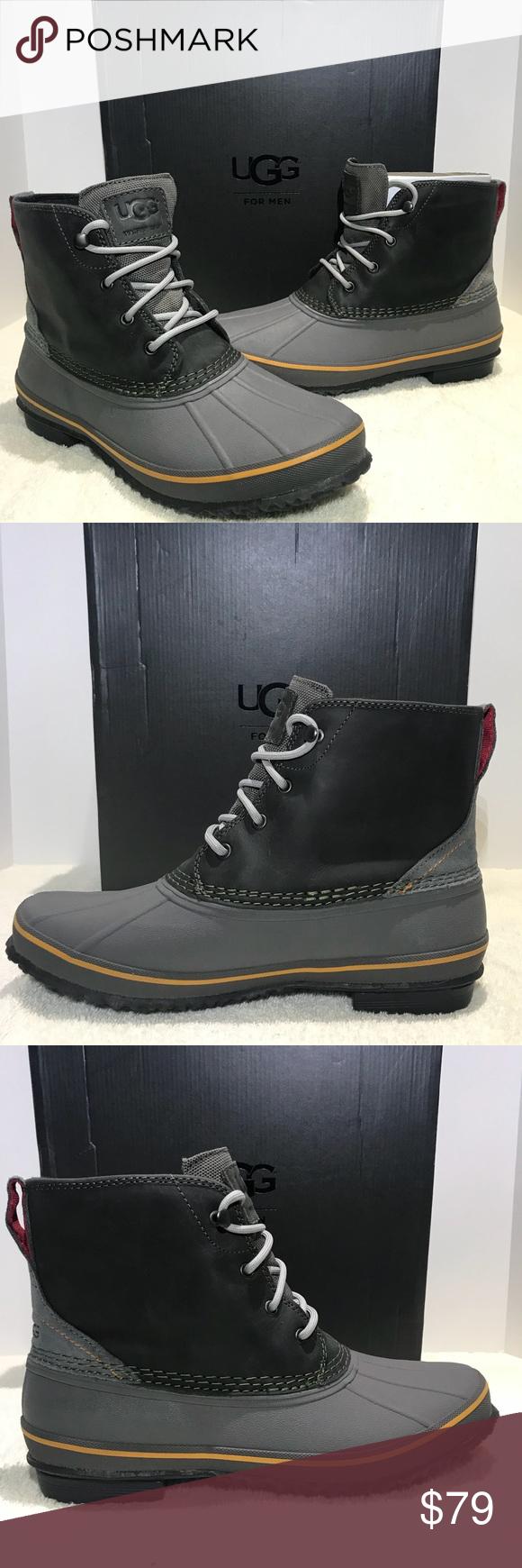 4888a6785a7 UGG Mens Zetik Boot Waterproof Leather 1017304 UGG Zetik Hiking Boot ...