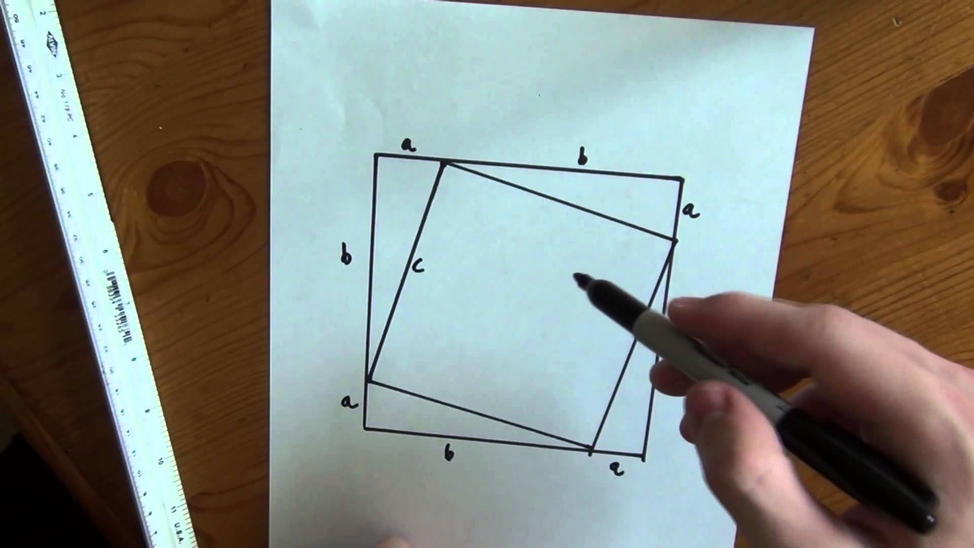 Fresh Ideas - Shortest Proof of Pythagorean's Theorem Ever